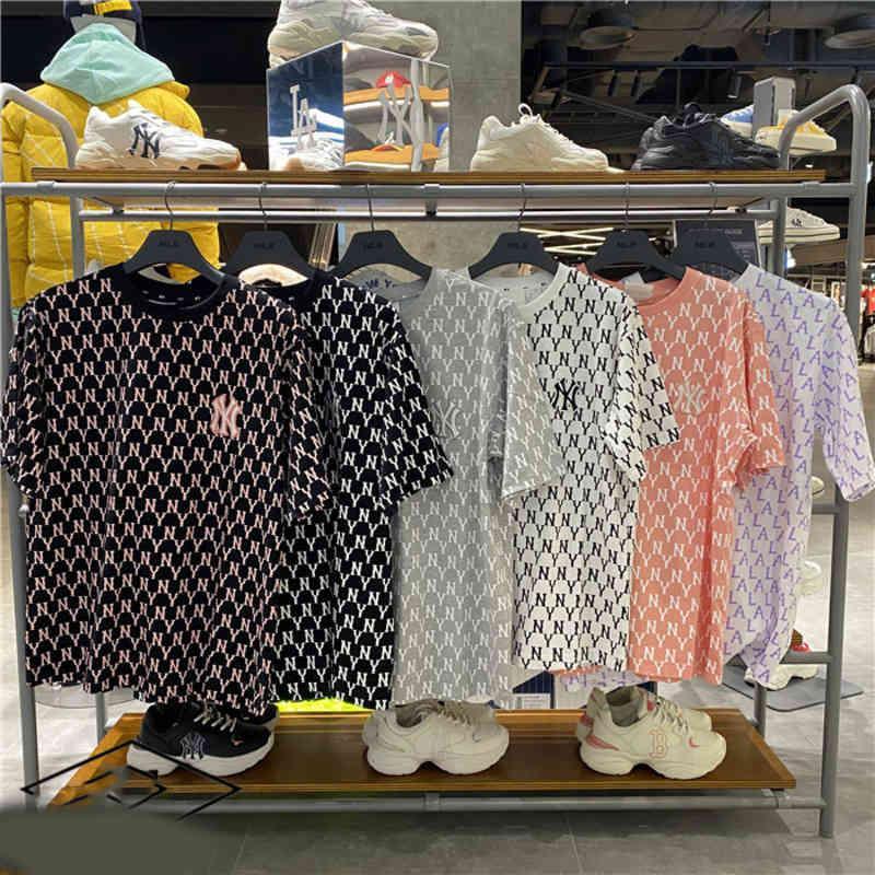 Estate NUOVO 2021 NY Manica corta Presbiopia Full Standard Mezza manica T-shirt da uomo e manica corta da donna