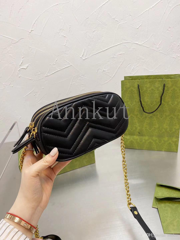 عالية الجودة مصممي الفمون الأزياء النسائية حقيبة crossbody حقيبة الكتف حقيبة السيدات محفظة سلاسل الصليب الجسم مخلب كاميرا حقائب اليد