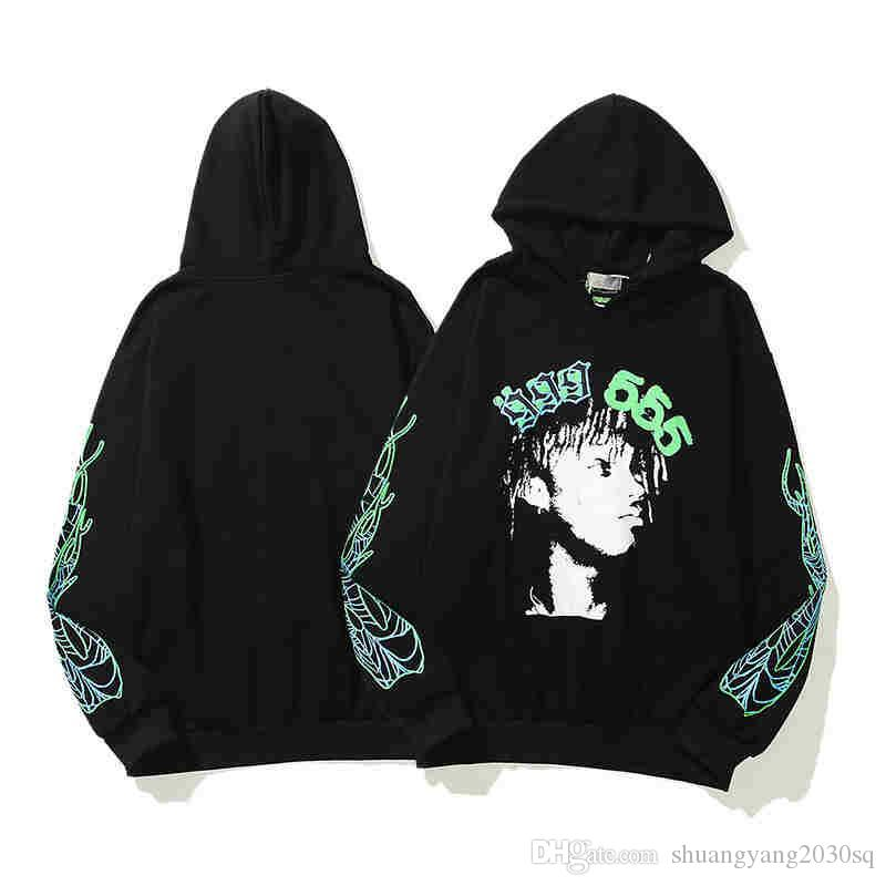 Felpe da uomo Desidence Felpe Fashion Hip-Hop manica lunga con cappuccio pullover Felpe modello 555 Avatar Uomo Casual Clots