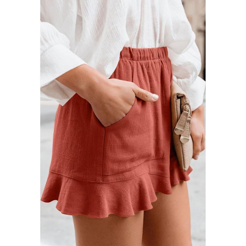 Women's Shorts Cotton Linen Short Pants Women High Waist Summer Plus Size Loose Wide Leg Casual Trouser Korean Slim Sweatpants Lady