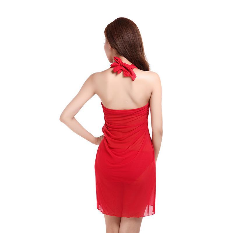OFERTA ESPECIAL 15 Yuan, excluyendo el nuevo traje de baño de Tulle Three Piece Bikini Beach Resort