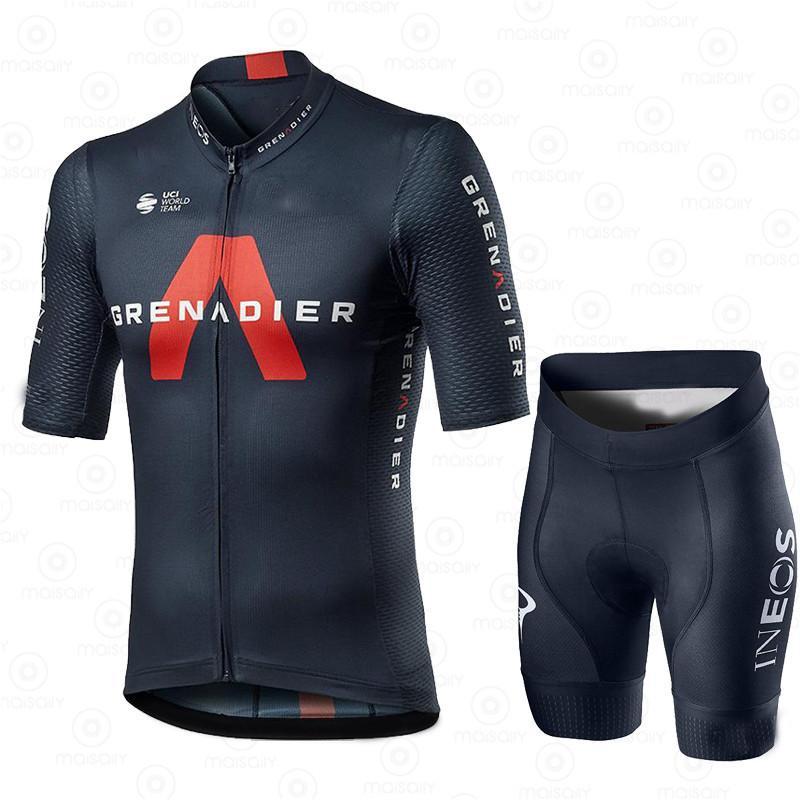 INEOS GRENADIER NEW 2021 мужская велосипедная одежда для велосипедов велосипедных велосипедов Ciclismo Hombre наборы MTB Maillot велосипедные дорожные велосипедные костюмы X0503