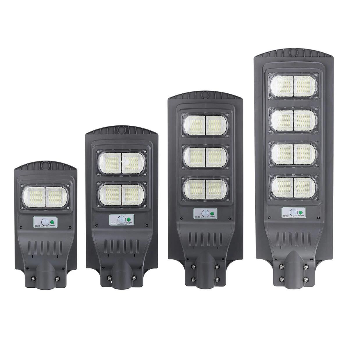 Augienb Solar Powered 140 / 280/420 / 560LED Straßenleuchte PIR Motion Radar Sensor Wasserdichte Outdoor Gartenlampe - 140LED