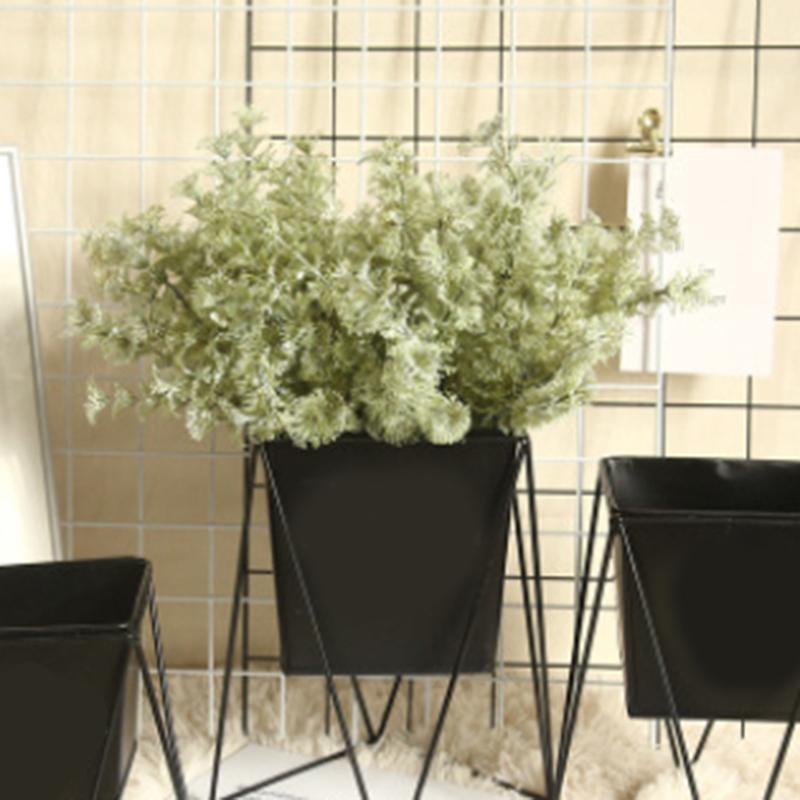 Artificial Flowers Silk Lambs Ear Leaf Spray Greenery For Home Decor Wedding Rustic Flower Decorative & Wreaths