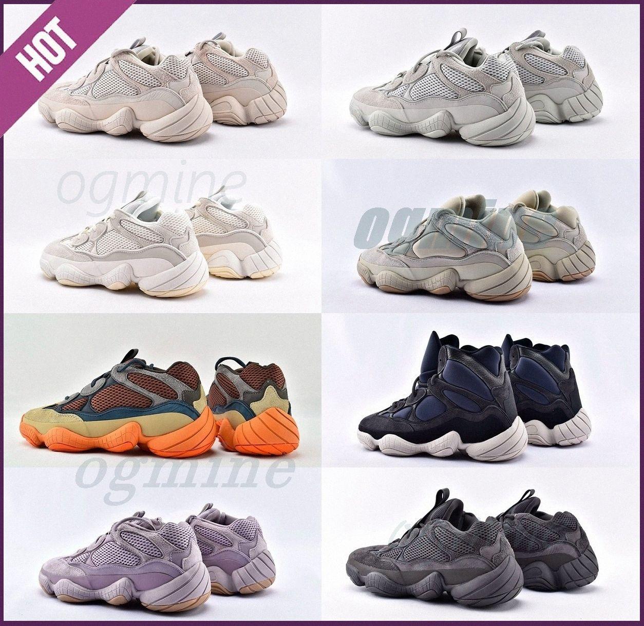 yeezy yeezys yezzy yeezys yzy enfant boost Kanye ouest 500 dessert rat roming chaussures d'os utilitaire blanc pierre noire Vision douce Vision Sports Sneakers rougis Jaune Bottes