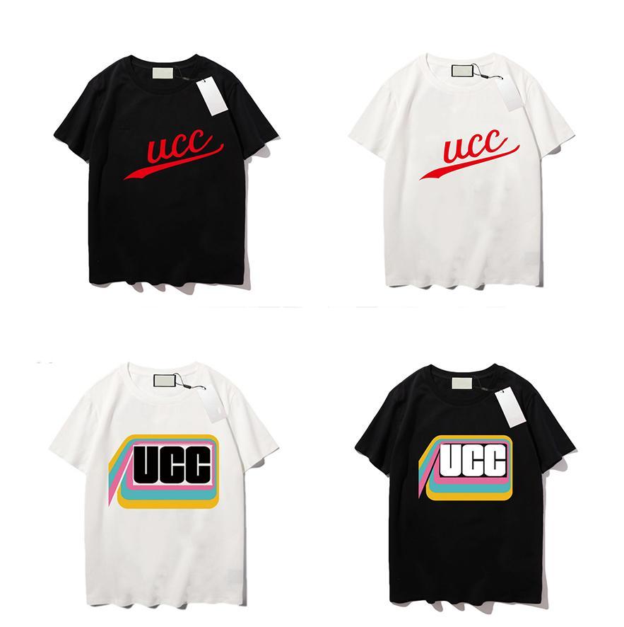 남자 디자이너 티셔츠 망 순 소매 짧은 소매와 자수 짧은 소매 짧은 소매 clothebreathable 고급 티셔츠 ss의 트렌드
