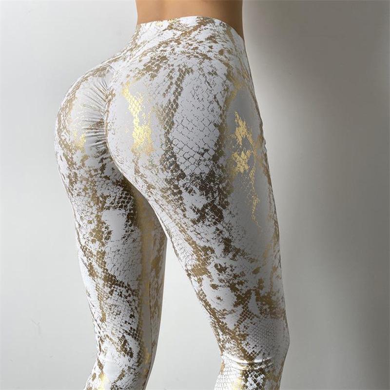 Propcm sexy melocotón cadera serpentina pantalones deportes deportes mujeres gimnasio alto cintura empuje hacia arriba Sweetpant hollow fitness yoga entrenamiento entrenamiento entrenamiento leggings