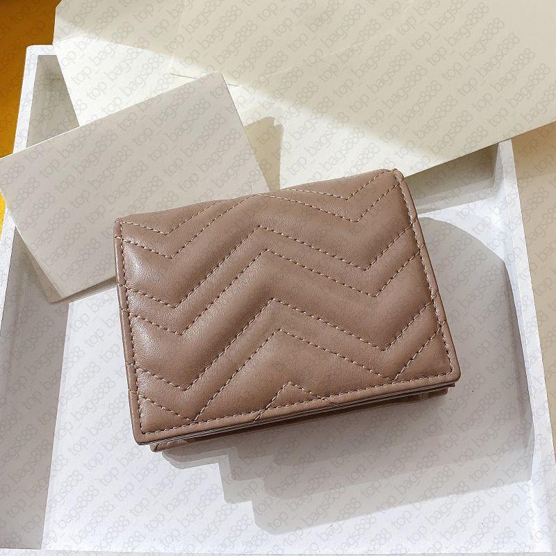 Designer Marke Womens Herren Mode Wave Brieftaschen Zick Zag GVCC1 Marmontt Echtes Leder Rindsleder Geld Clip Münze Geldbörse Kreditkartenhalter Reißverschluss Brieftasche