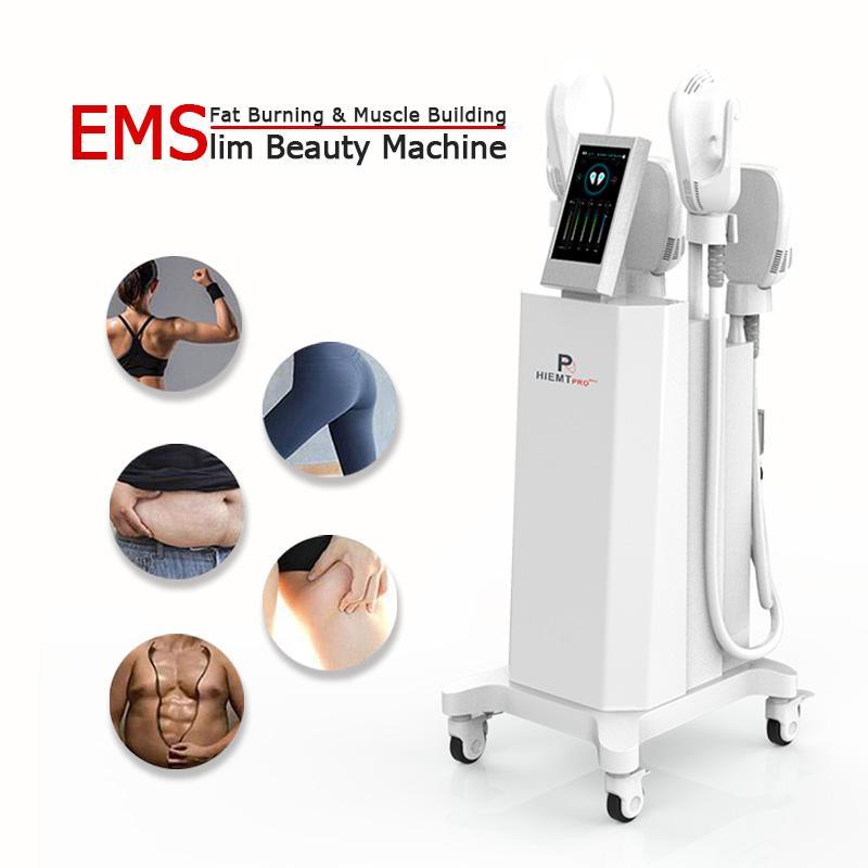 Emslim slimming Machine 4 Handles Ems Sculpt vertical Muscle Stimulator Culpting Body Sculpting Hiemt