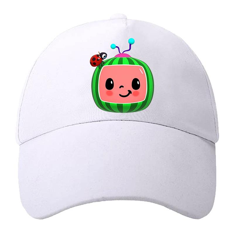 Tiktok cocomelon cartoon berretto da baseball cappello a sfera per bambini pupilla bambino ragazzi ragazzi designer estate snapback sport cappuccio tutto stagione spiaggia cappelli all'aperto visiera gg4eyi1n