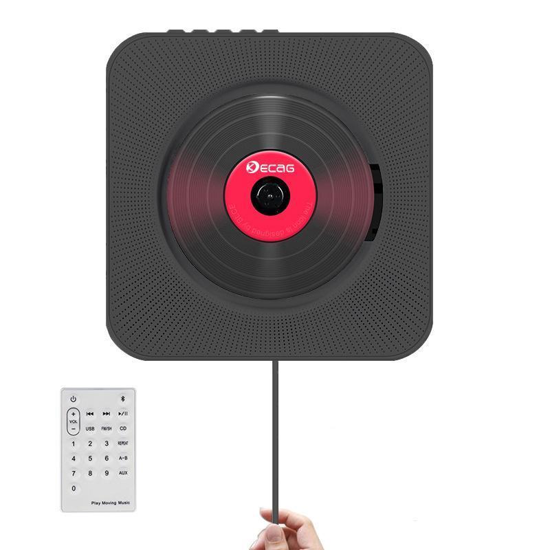 Lettori MP4 Portatile CD portatile MP3 Player Bluetooth Player Montaggio a muro Audio Audio Boombox Speaker Prenatal con telecomando FM Radio USB