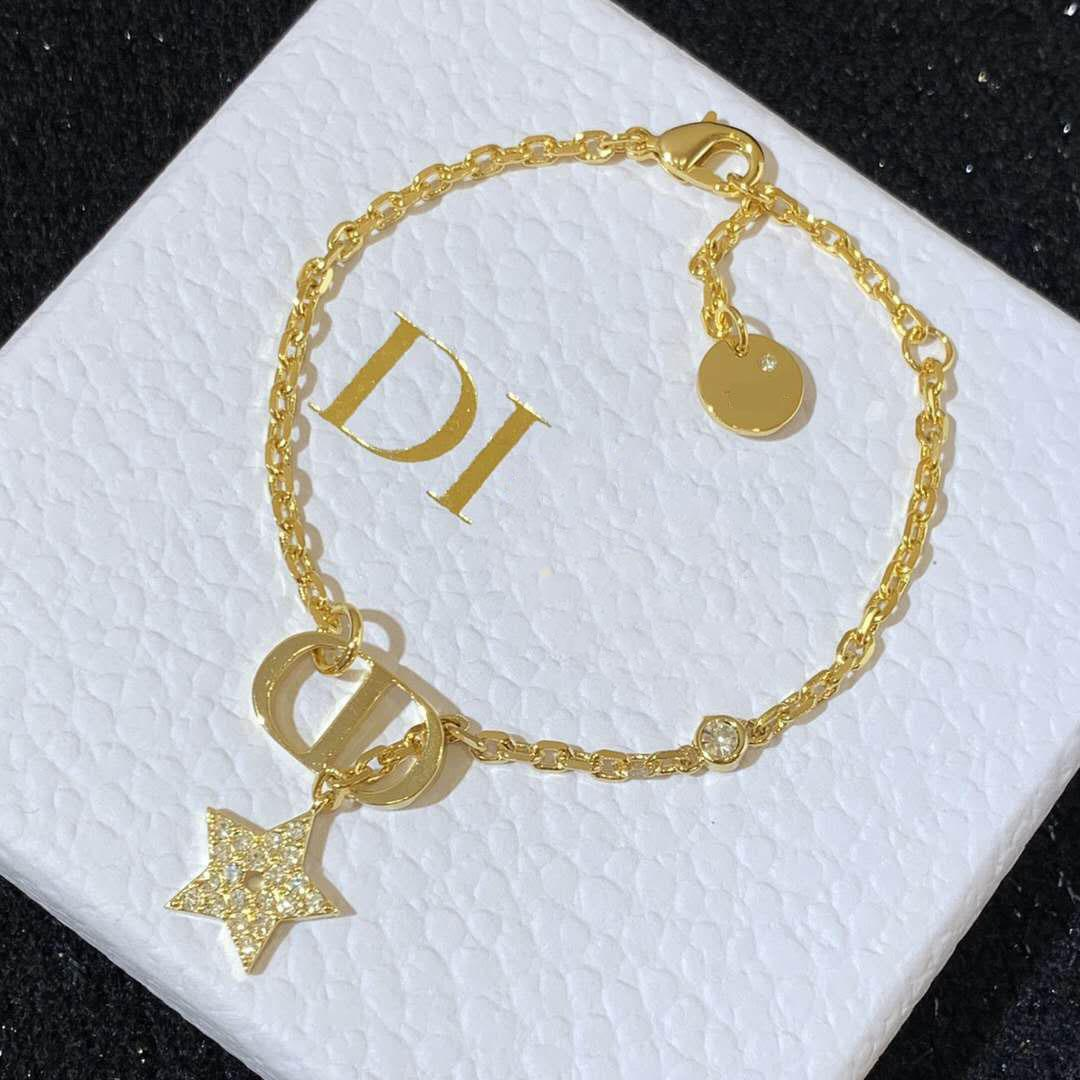 D hogar / Dijia Pulsera 2021 Diseño de moda Cinco puntiagudo estrella