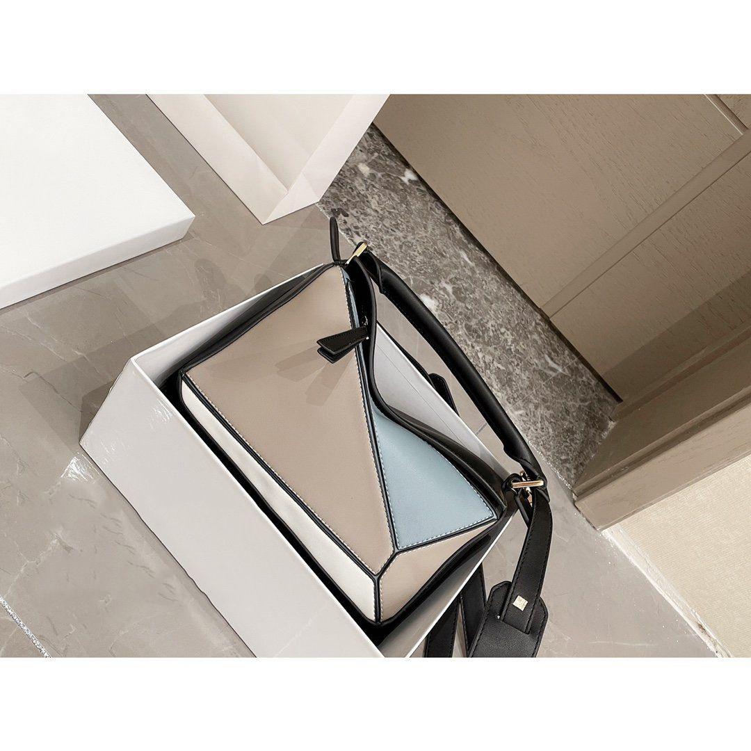 Luojia Geometrische Tasche Neue Geschäft Pendel Mode Eine Schulter Messenger Bag Einfache Atmosphäre Damen Tasche CJ