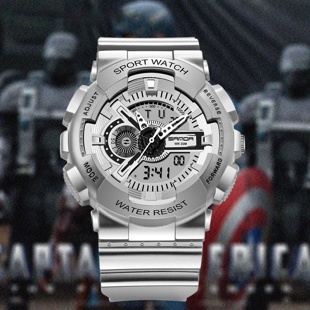 Relojes de pulsera Gshock Casual Sport Sport Digital Masculino Hombre Reloj de cuarzo G Shok Cronógrafo Relojes electrónicos Regalos para hombres Moda Q0310