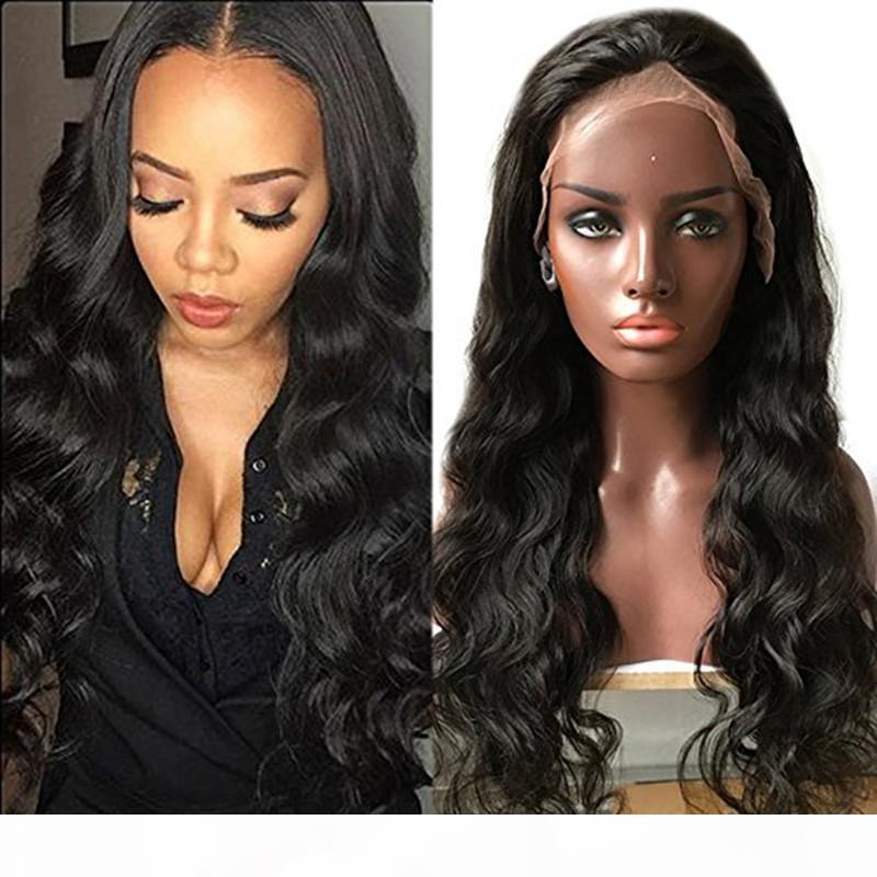 Zhifan Lace Front Wigs Loose Curls Wigs de Cabelo Indiano Atacadistas Indian Wigs Online 8-22inch Natural ondulado DHL Navio Livre