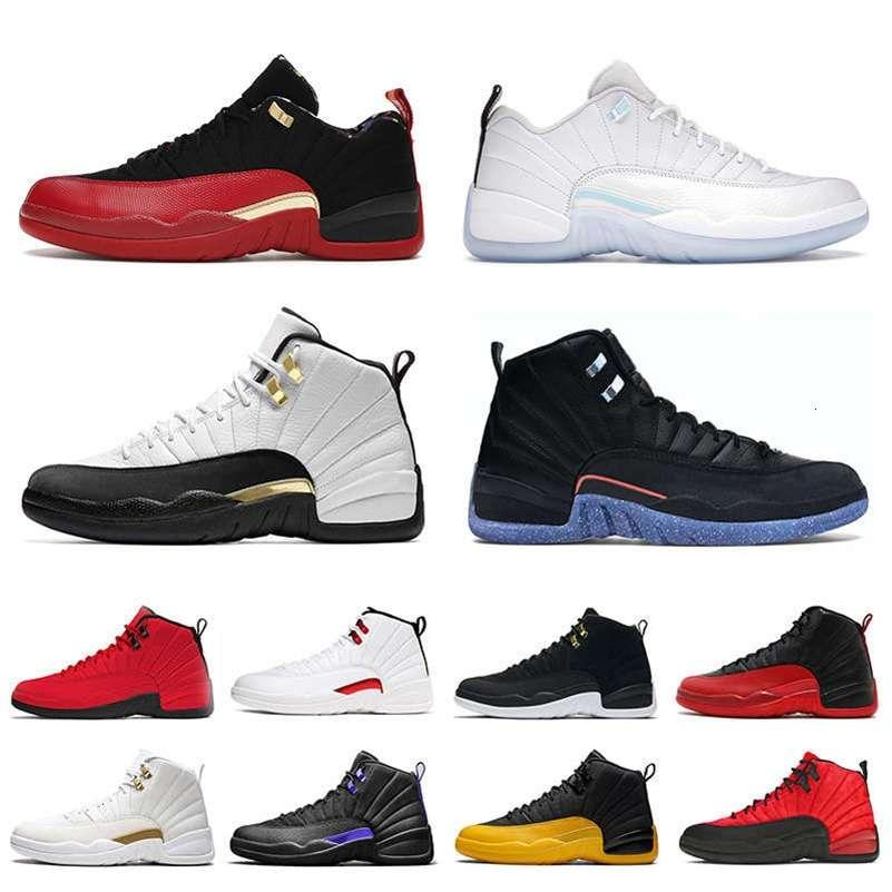 Kutu Jumpman 12 Basketbol Ayakkabıları Ile Mens Royalty 12s Düşük Paskalya Twist Ovo Beyaz Flu XII Üniversitesi Altın Fiba Eğitmenler Spor S Lesliecheung
