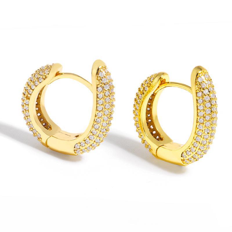디자이너 2021 새로운 귀걸이 페미니즘 그물 그물 붉은 쥬얼리 성격 다이아몬드 쇼 얇은 귀걸이 ERU01