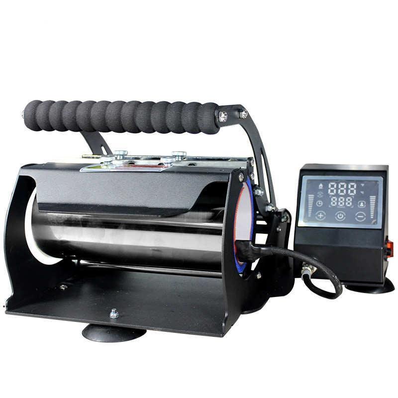 Süblimasyon machinng ısı basın makine yazıcı 20 oz için uygun 30 oz 12 oz düz Tumblers 110 V termal transfer makineleri Seaway DWA7368