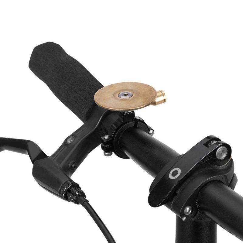 Bike Horns Accessorio Easy Installare Ciclismo Sicurezza Pieghevole Maniglia Pieghevole Bar Horn Mountain Retro Allarme Allarme Allarme Fortione Sound Parts Classical Anello Bicycle Bell