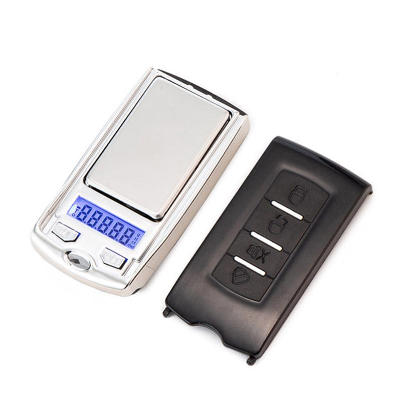 Mini Precision Digital Scales For Silver Coin Gold Diamond Jewelry Weight Balance Car Key Design 0.01g Electronic Scale
