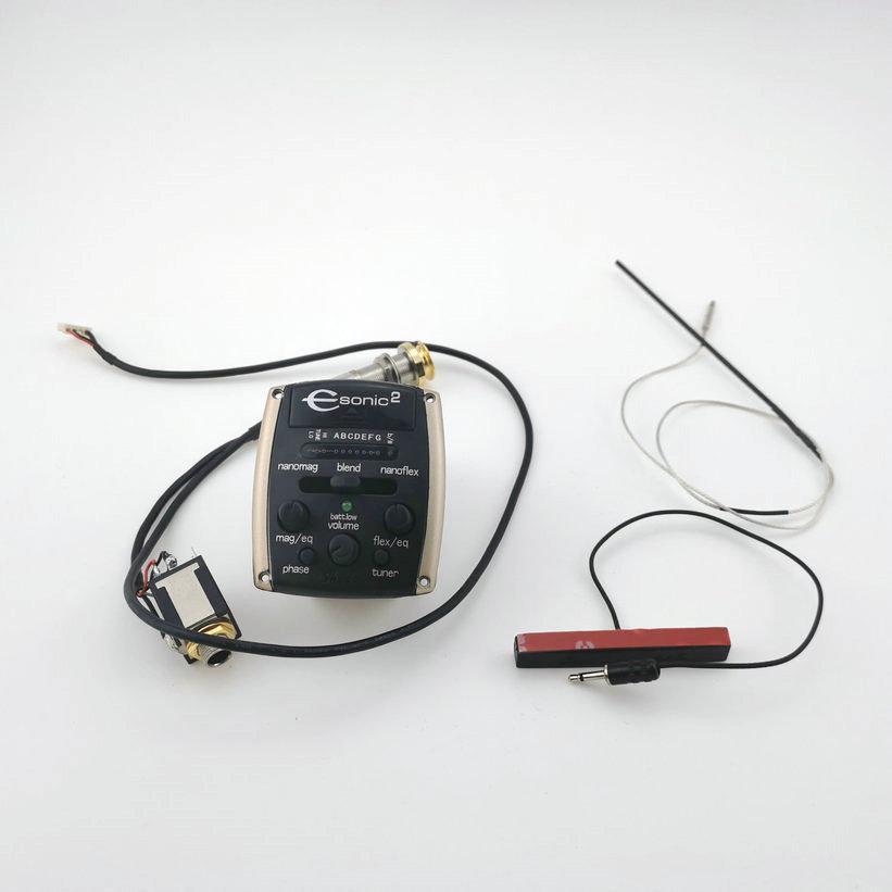 Pickup di sistema attivo Shadow ESONIC2 originale con pickup per chitarra acustica di Nano Mag