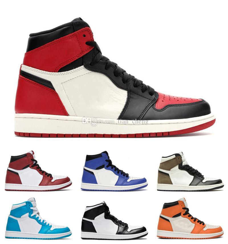 Jumpman 1 mens scarpe da basket 1s OG High Dark Mocha Donne Sneakers Pine Green 2.0 Banning Trainer Scarpa da passeggio