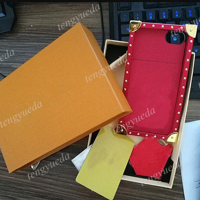 أزياء مصمم زهرة الحالات الهاتف لآيفون 12 11 برو ماكس xs XR XSMAX 7 8 زائد جودة أعلى جودة معدن جلد فاخر غطاء الهاتف المحمول مع مربع