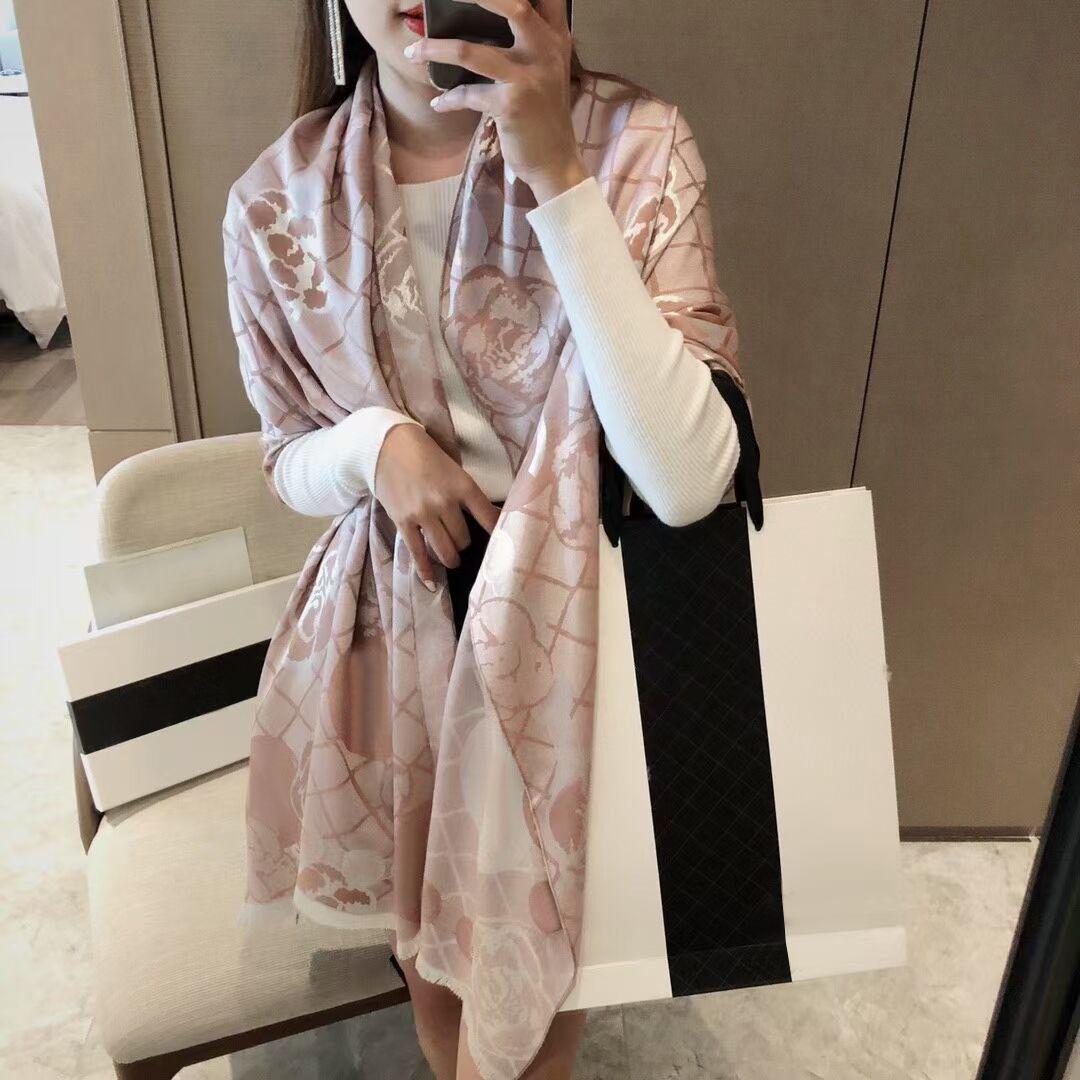 90-180cm marca lenços mulheres sênior longa camada única chiffon seda xailes moda turismo softer designer de lenço de impressão presente