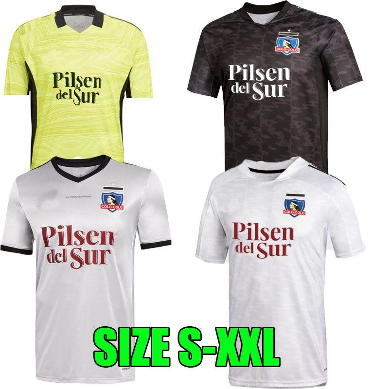 2021 2022 Colo Colo 30 Años Copa Libertadores Soccer Jerseys 1991 Anniversary 30th Camiseta حارس مرمى Falcon Blandi Suazo Campos 21 22 Opazo Football Shirt Man