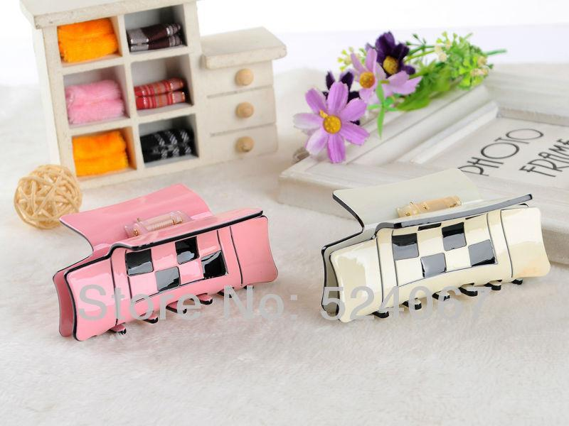 Hair Clips & Barrettes Fashion Acrylic 4 Colors Clamp Accessory For Women Ornament Party Gifts