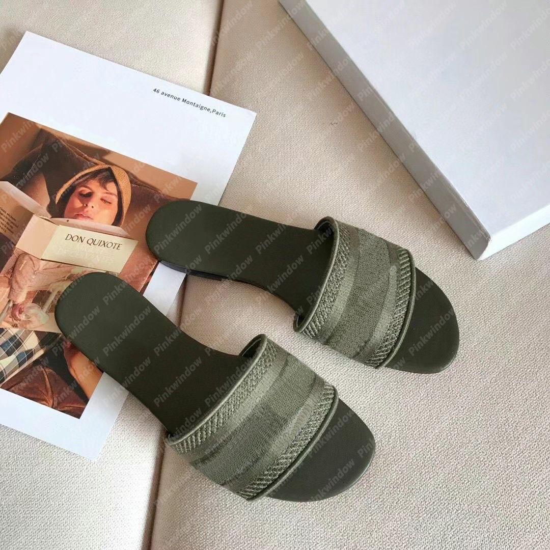 wholesale Slippers Designers Women Sandals Luxurys Slide Womens Shoes Designer Flat Slides Flip Flops Platform Sandals Slippers 2104023L
