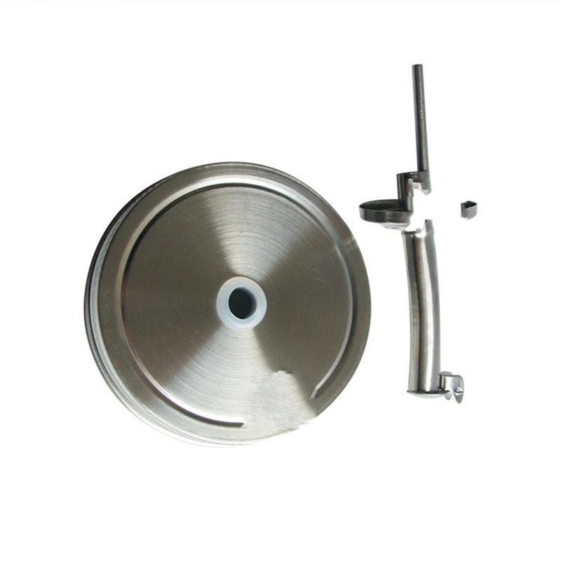 70mm Mason Jar Livro Tampa de Aço Inoxidável Prevenção Molho Garrafa Cap De Cozinha Acessórios GWF10627