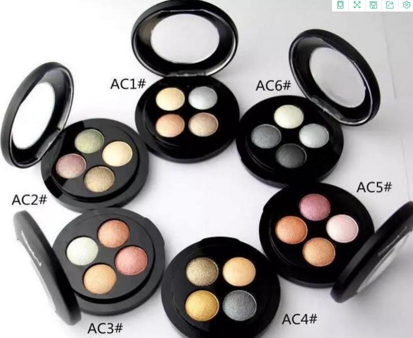 منتجات ذات جودة عالية أفضل مبيعا لجمع 4 لون ظلال العيون 0.5 غرام