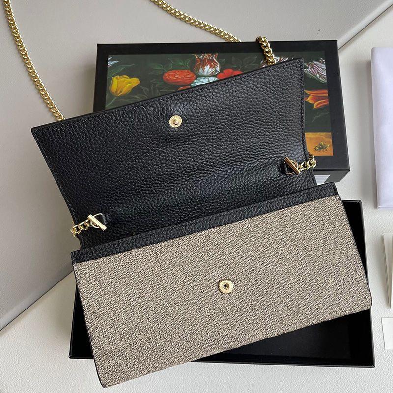 Sacos de cadeia clássicos senhoras senhoras bolsa de embreagem mulheres bolsas de couro bolsas de ombro titular do cartão crossbody saco wellt bolsa