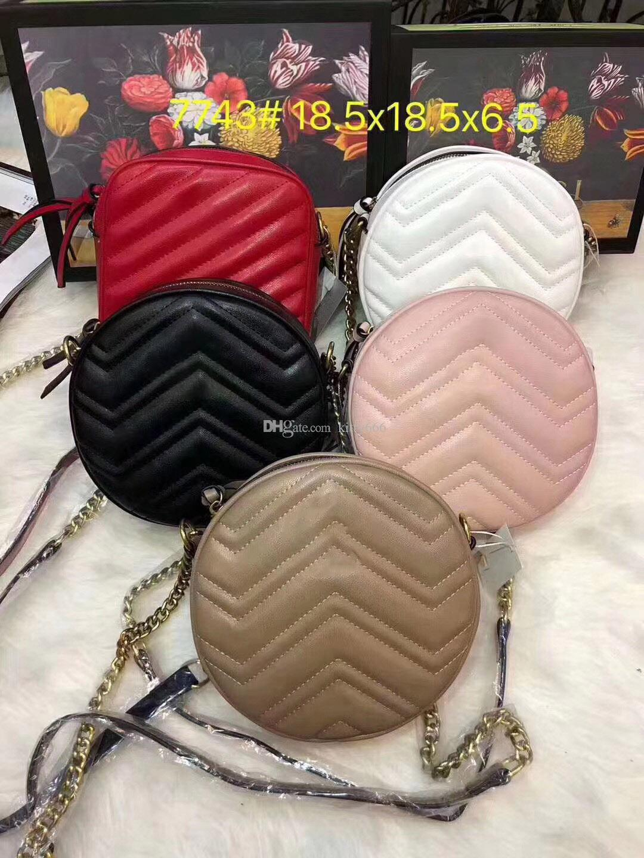 Borse a tracolla Designer di Lussurys Borse a tracolla Crossbody Borse circolari di moda Donna Signora Messenger Borse 5 colori