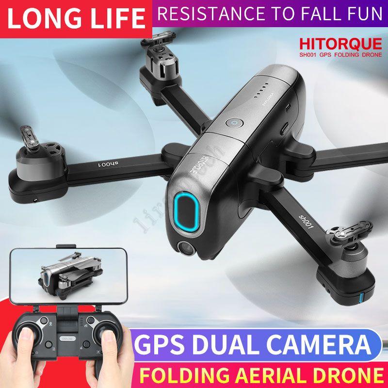 Seguimi VideoTransMitter 4K Mini fotografica mini Droni con fotocamera con fotocamera e GPS 5G WiFi Telecomando Quadcopter Batteria Professionnel PK SJRC F11 Pro ZLL HS720E
