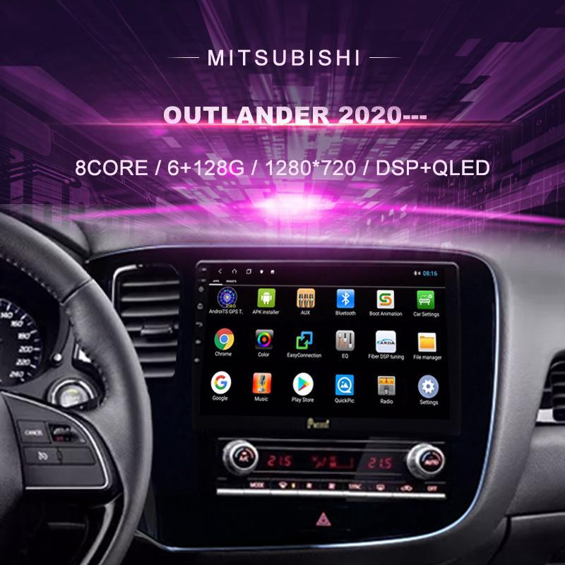 Android Car DVD für Mitsubishi Outlander (2021 ---) Radio Multimedia Video Player Navigation GPS 10.0 Double DIN