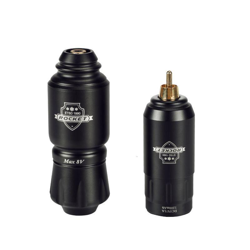 Rocket Mini Rotary Tattoo Machine Pen With Powerful Tattoo Power Supply Mini Wireless Tattoo Set Kit T200609