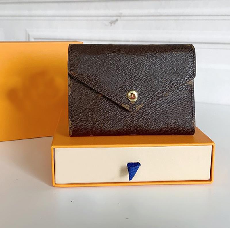 2021 الأزياء الفاخرة جودة عالية قصيرة محفظة منقوشة إلكتروني طباعة مصمم بطاقة حامل الفاخرة العلامة التجارية للجنسين محفظة القضية