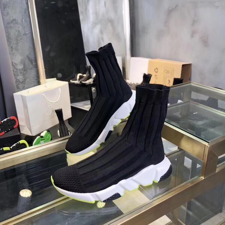 Balenciaga shoes  tacchi in pelle pizzo up signore stivali da metà vitello antiscivolo 2021 calzature femminili