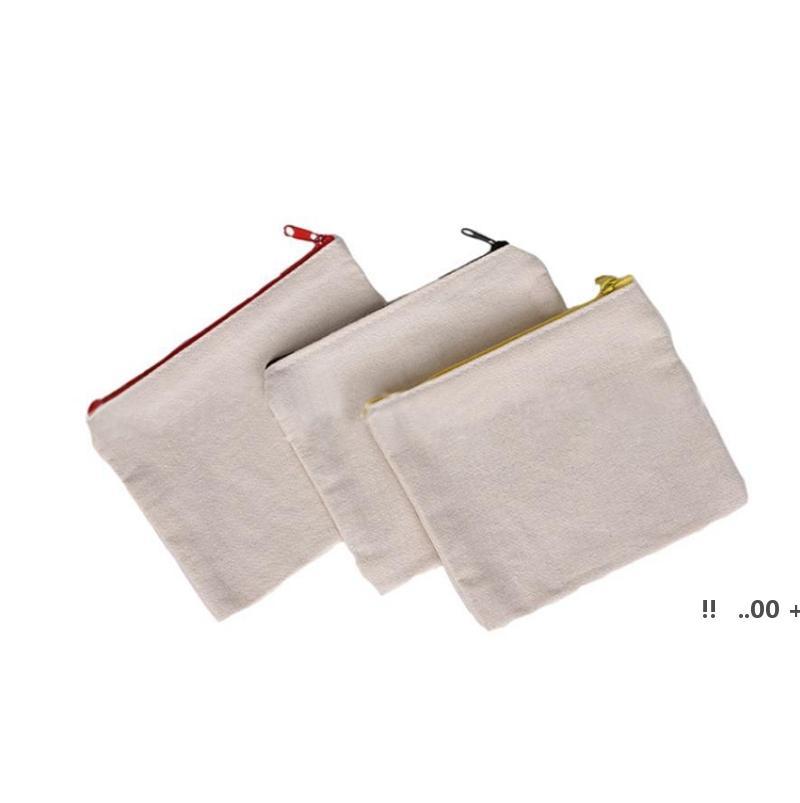 التسامي أكياس مستحضرات التجميل فارغة قماش سستة الحالات مخصصة المرأة ماكياج حقيبة الأزياء حقيبة يد الحقائب حقائب EWC7153