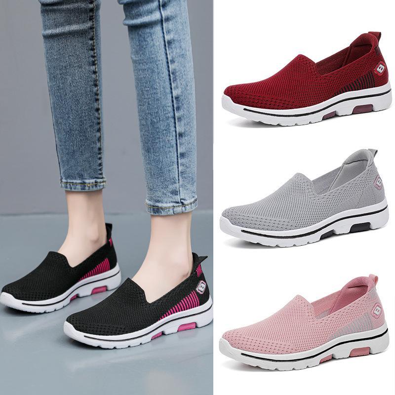 HBP Classic Classic Slip-on Shoes Traspirable Shoes Moda Shoe Shoe Dimensioni da donna 35-40