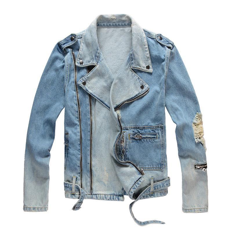 Mens Jackets Fashion Top Quality Denim Jacket Casual Hip Hop Designer Outerwear Famous Clothing Plus Size M-4XL