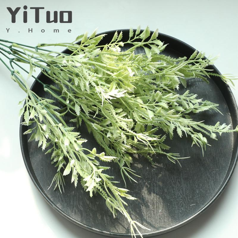 YiTuo Grass Rose Decoration Wedding Bouquet Plant Wall MW73777 Decorative Flowers & Wreaths