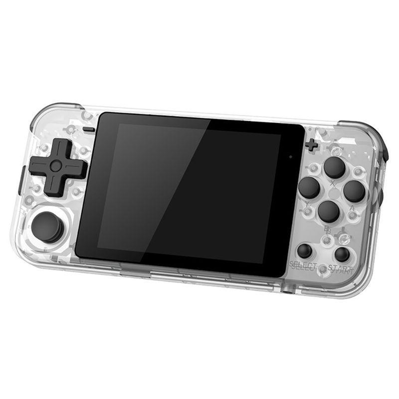 Taşınabilir Oyun Oyuncuları Powkiddy Q90 Açık Çift Sistem El Retro Konsol16 Simülatörü Consolas Devideojuegos Video Konsolu