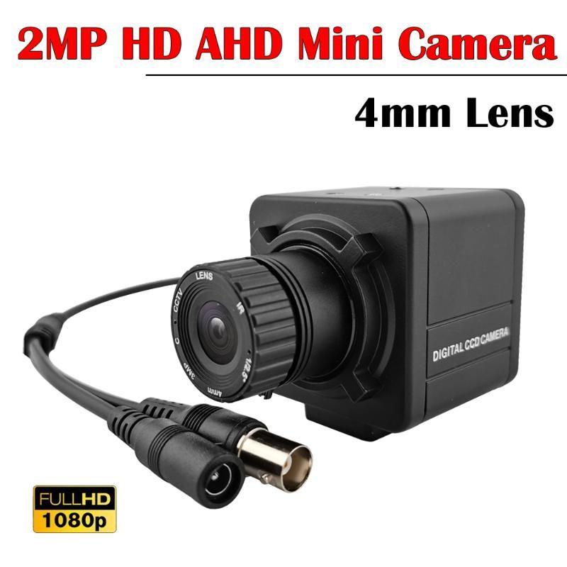 NEOCoolcam HD 1080P AHD Box Camera Indoor Home Video CCTV Security Surveillance Cameras 4MM Lens For 2MP DVR System IP