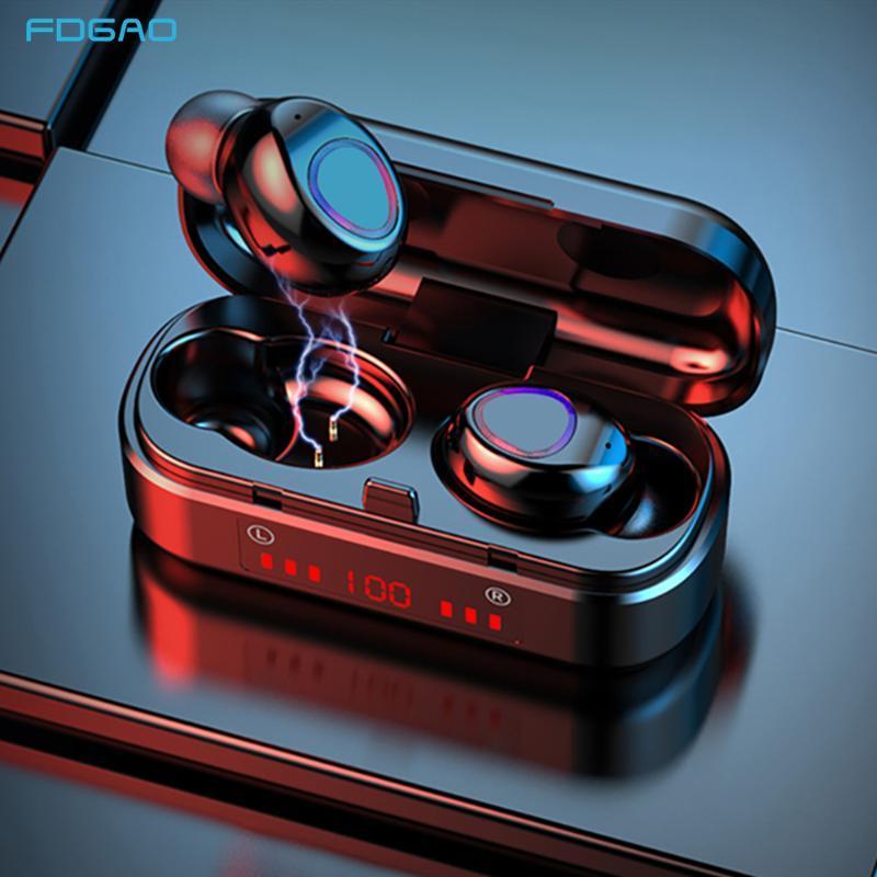Écouteur Bluetooth sans fil Sports Écouto-casque Casque Casque Casque Tws Écouteurs Casques avec écouteurs de microphone