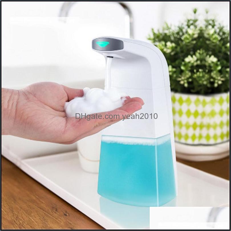 Banheiro líquido Aessórios Banheira Home Gardenliquid Soap Dispenser Matic Indução Espuma Sensor Inteligente Crianças Mão Touchless Cleaner Hi