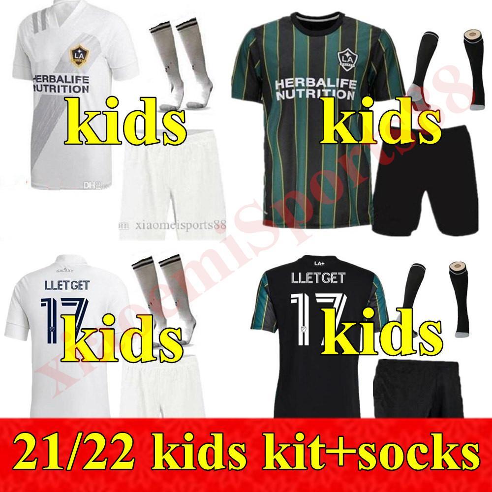 Acquista 2021 2022 Mls Fc Los Angeles Galaxy Jersey Bambino Gioventù La Calces Zlatan Ibrahimovic Jonathan Dos Santos Giovani Kit Kit Kit Calcio ...