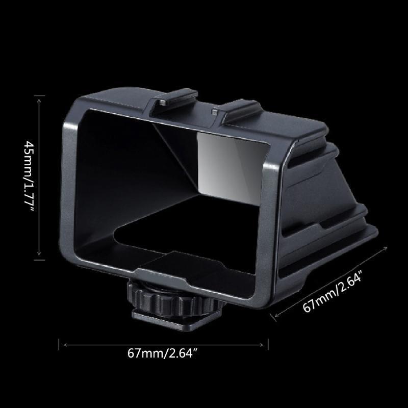 플라스틱 플립 스크린 브래킷 잠회망 VLOG SOPIE 스탠드 홀더 SO-NY A6000 A6300 A7II A7RIII A7M3 액세서리 키트 32CB 렌즈 어댑터 M